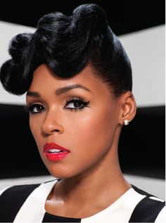 """Janelle Monae covers Uptown Magazine """"The Holiday Issue"""" photographed by Marc Baptiste."""