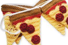 Lion Brand® Vanna's Choice® Pepperoni Pizza Garland (Crochet)