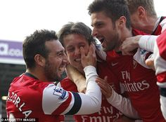 Star: Tomas Rosickys double moved Arsenal above Chelsea into the top four