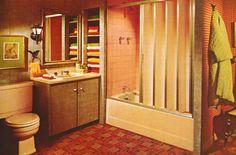 Keep a Good Head and Always Carry a Lightbulb, thegikitiki:   1970s Bathroom Decor