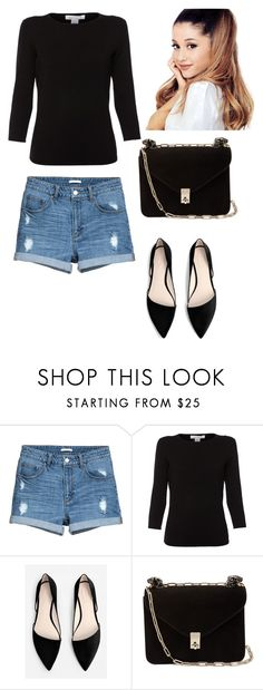 """simply look"" by linamakovskaya on Polyvore featuring мода, Belford, MANGO и Valentino"