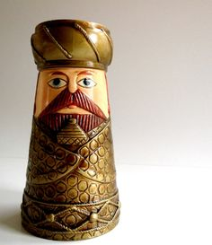 Vintage 1960s Wise Guy Candle Holder