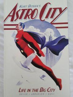 Kurt Busiek s ASTRO CITY - LIFE IN THE BIG CITY Graphic Novel Comic Book - EUC