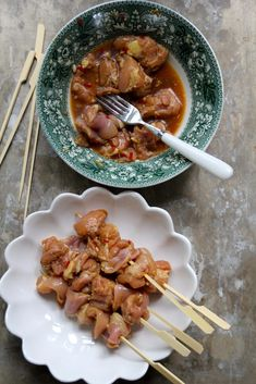 Asiatiske kyllingspyd - Mat På Bordet Food And Drink, Ethnic Recipes, Chinese, Chinese Language