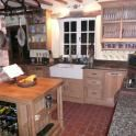 I don't like fitted kitchens but if I had to have one it would be like this...