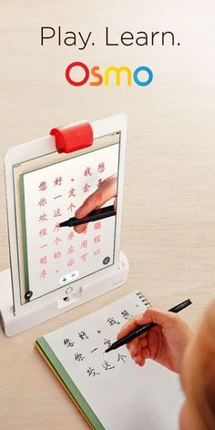 Osmo is amazing!  Draw with Osmo or even learn to write a new language.