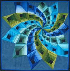 BLOCKBUSTER ... so many cool quilts on this link pinner Lies Bos -Varkevisser