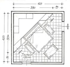 Cabina armadio angolare in legno 700   Cabina armadio angolare - Caroti