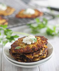 Spaghetti Squash latkes 3 by Runningtothekitchen, via Flickr