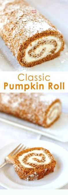 Cinnamon and cloves add the spice to this pumpkin sheet cake, topped with cream cheese frosting and rolled into a festive logs.