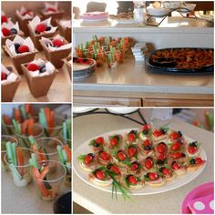 ladybug birthday party food
