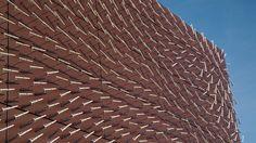 Weathervane Wall turns wind patterns into data art