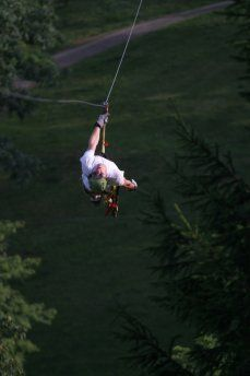 Zip lining North Carolina. Beech Mountain North Carolina things to do just minutes from this mountain cabin that sleeps 15! http://homes.superlativerealtyservices.com/idx/details/listing/a424/191147/103-Maple-Ln