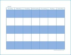 0 11 1 17 Click here to print The Peaceful Mom Blank Monthly Calendar.  Great for: *Keeping track of appointments *Menu Planning *Planning blog posts for the month  Click herefor more blogging planners. Click here for more FREE printable planners.  0 11 1 17