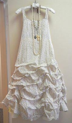Floral printed cotton Tunnel Slip (Krista Larson)