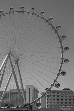 High Roller in B&W, Vegas <3 Photo by: MariaManuelaPhotography <3 Please like & share my facebook page: https://www.facebook.com/mariamanuelamagalhaesphotography Please go check this website: www.dnielsenart.drupalgardens.com This wonderful artist turned some of my photos into a piece of art #Vegas #HighRoller #USA #B&W #black&white #photography #travel #fun #Nevada #architeture