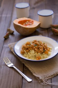 Cocinando sabores: Cuscús con pollo y calabaza, ligero