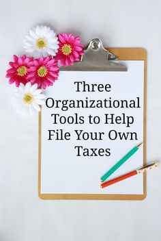 Holly Bohn, organizational expert and founder of See Jane Work shares helpful tips and tools that will give peace of mind while filing your taxes this year.