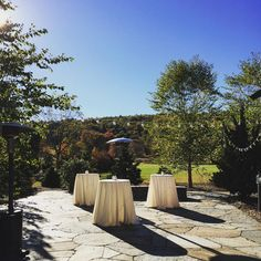 Quonquont Farm Patio | Blue Heron Catering | Be Our Guest Party Rentals | Eutopia Events