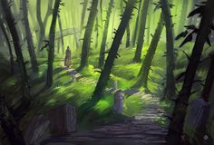 Old Path by Nele-Diel on DeviantArt