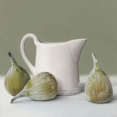 Still Life with Figs - Oil on linen