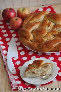 rezetas de carmen: Pan Challah de manzana y miel
