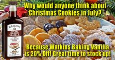 Get this and many more items on sale this month at www.Watkins1868.com/Tamara   #Baking #Cooking #Vanilla #Recipes