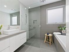 Tiles built in bath