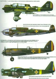 Romanian bombers on the eastern front Luftwaffe, Ww2 Aircraft, Military Aircraft, Bristol Blenheim, Military Drawings, Aircraft Painting, Ww2 Planes, World War Two, Wwii