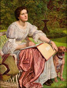 William Holman Hunt : Miss Gladys