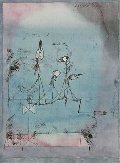 Paul Klee, Twittering Machine, 1922