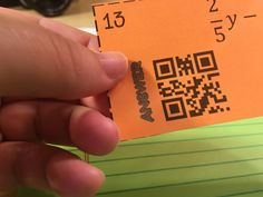 5 ways to use QR codes in the math classroom.Students get immediate feedback on answers.