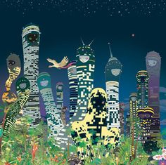 City Glow - Chiho Aoshima