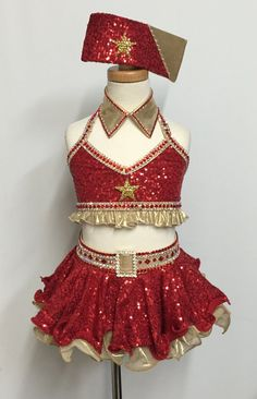 - Outstanding Costume in Style, Quality and Condition - You could not possibly add any more rhinestones * a few may be missing - One of a kind ever made - Child S - $295.00