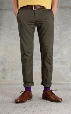 PRPS Chino Army Red Selvedge