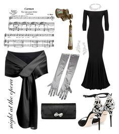 """night at the opera"" by whatisshewearing on Polyvore featuring Dolce&Gabbana, KamaliKulture, Messika and Kate Spade"