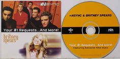 Britney and NSync McDonald's CD Kids Meal Fav  I still have this cd! I loved it ;)