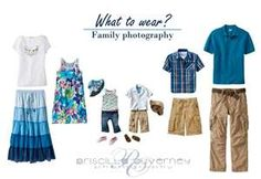 Priscilla Ouverney Photography: Family Portraits: What to wear? Family Photo Colors, Beach Family Photos, Family Picture Outfits, Kids Outfits, Family Pictures, Beach Photos, Family Portraits What To Wear, Matching Christmas Sweaters, Photo Blue