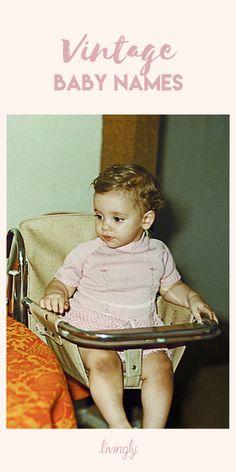 Vintage baby names, baby girl names unique, unique baby, baby n Vintage Baby Names, Unique Baby Names, Vintage Mom, Old Fashioned Baby Names, Cute Babies, Baby Kids, Baby Baby, Baby Shower Invitaciones, Oldschool