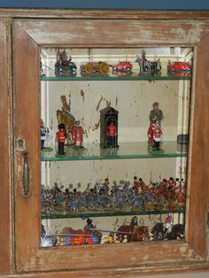 A collection of old toy soldiers (The French Tangerine: ~ decorating with collections)