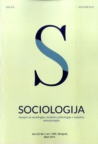 The households of Serbia at the dawn of third millennium: Socio-demographical analysis | Bobić Mirjana | Side by side with tumultuous social processes in the end of XXth century great demographical changes have been taking place in Serbia, such as: the decline of nuptiality and fertility, postponement of family formation into older ages of life course of individuals, the rise of: extramarital births as well as adolescent pregnancies and live births, the spread of one-parent households…
