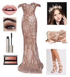 nude by cheyenne-de-jongh on Polyvore featuring polyvore fashion style Charlotte Russe Oscar de la Renta Kevyn Aucoin Ilia Nevermind clothing