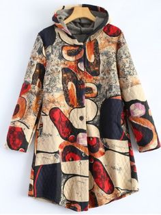 GET $50 NOW | Join RoseGal: Get YOUR $50 NOW!http://www.rosegal.com/coats/hooded-vintage-printed-coat-804062.html?seid=6906459rg804062