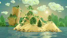 LowPoly Island