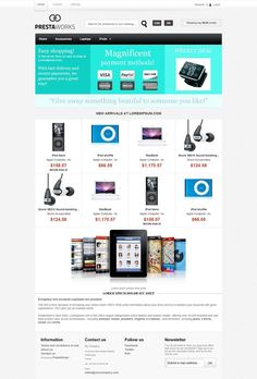 Concordia - Premium PrestaShop 1.5 Theme for Fashion, Electronic Products