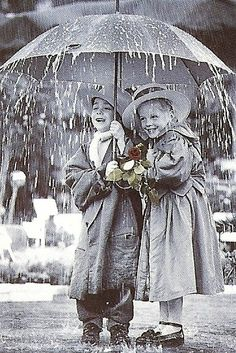 Under My Umbrella ~ Vintage BrandiElsie