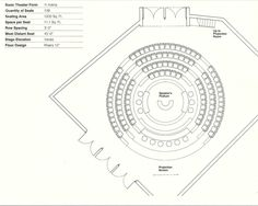 Gallery of How to Design Theater Seating, Shown Through 21 Detailed Example Layouts - 21