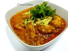LOVE TO COOK: Chana Chicken