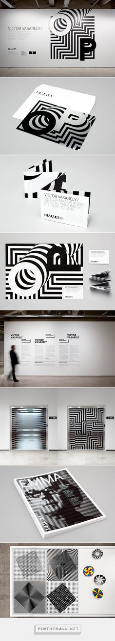 Victor Vasarely Exhibition design