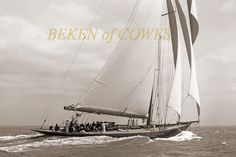 Lulworth 1930 © Beken of Cowes :: Image :: J Class Association Classic Yachts, Sailing Ships, Image, Sailboat, Tall Ships